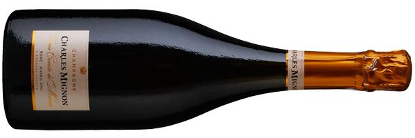 WineManual Charles Mignon, Cuvée Comte de Marne Rosé Champagne Grand Cru N.V. (Champagne AOP)