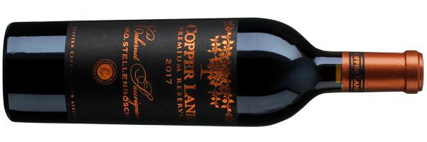 WineManual Copper Lane, Premium Reserve Cabernet Sauvignon 2017 (Stellenbosch WO)