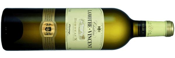 WineManual Château Lamothe-Vincent, Heritage Blanc 2019 (Bordeaux Supérieur AOP)