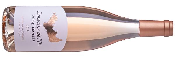 WineManual Domaine de l'Ile, Porquerolles Côtes de Provence Rosé 2019 (Côtes de Provence AOP)