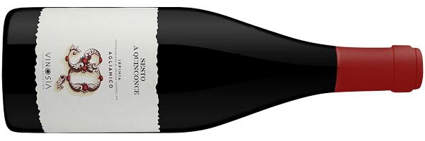 WineManual Vinosia, Sesto a Quinconce Aglianico Irpinia 2013 (Irpinia DOC)