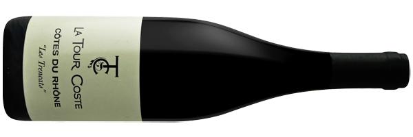 WineManual La Tour Coste, Côtes du Rhône 'Les Trencats' 2018 (Côtes-du-Rhône AOP)