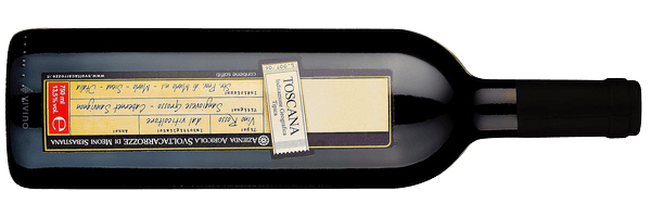 WineManual Svoltacarrozze di Meoni Sebastiana, Toscana Sangiovese Grosso - Cabernet Sauvignon 2011 (Toscana IGP)